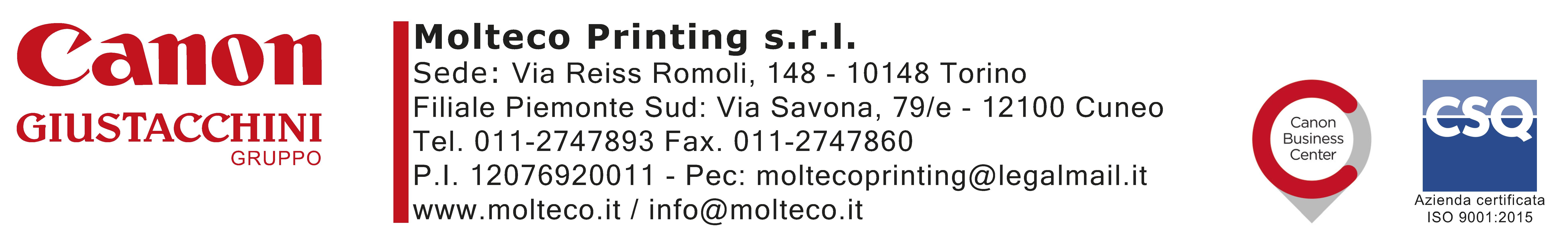 Molteco printing